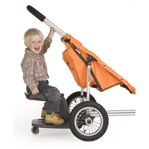 Revelo Kid Sit In Grey Ride On Buggyboard Buggy Pram Board