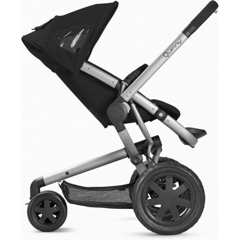 Quinny buzz 3 pushchair rocking black for Housse quinny buzz