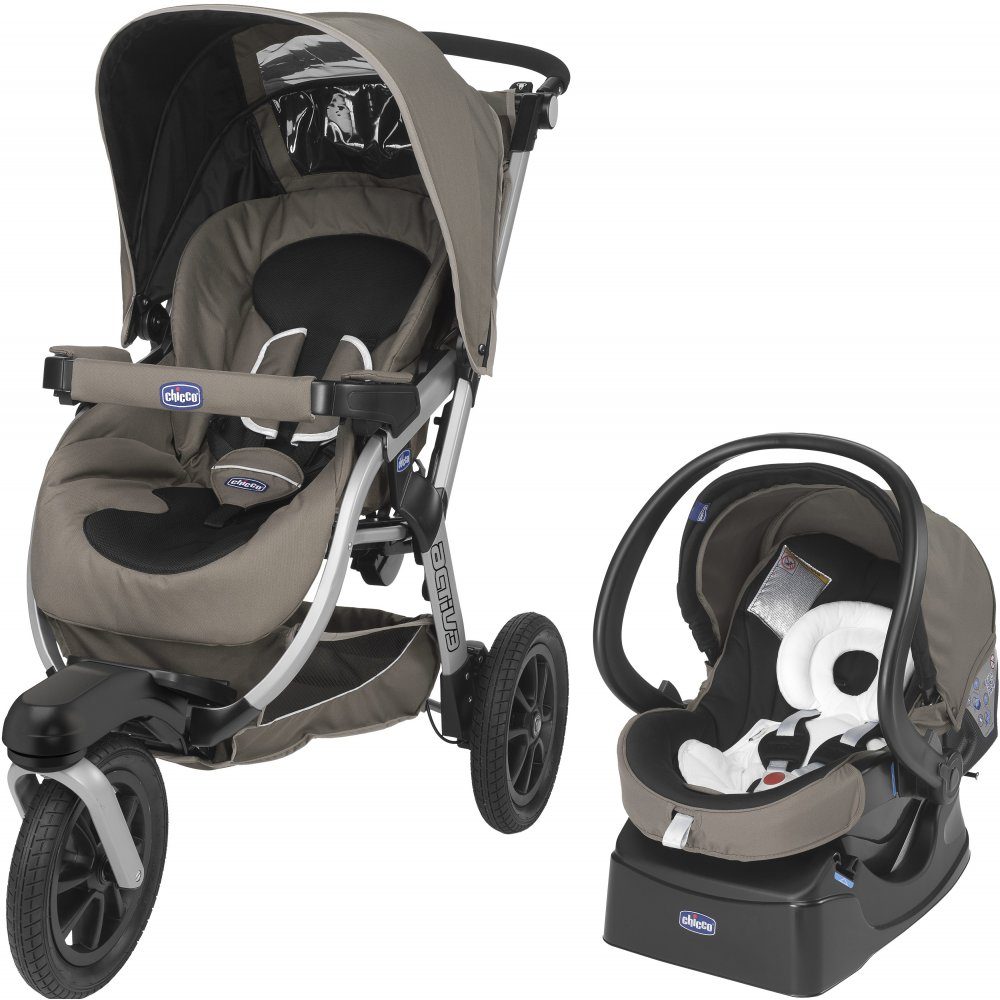 chicco activ3 stroller with auto fix fast car seat pushchair pram buggy. Black Bedroom Furniture Sets. Home Design Ideas