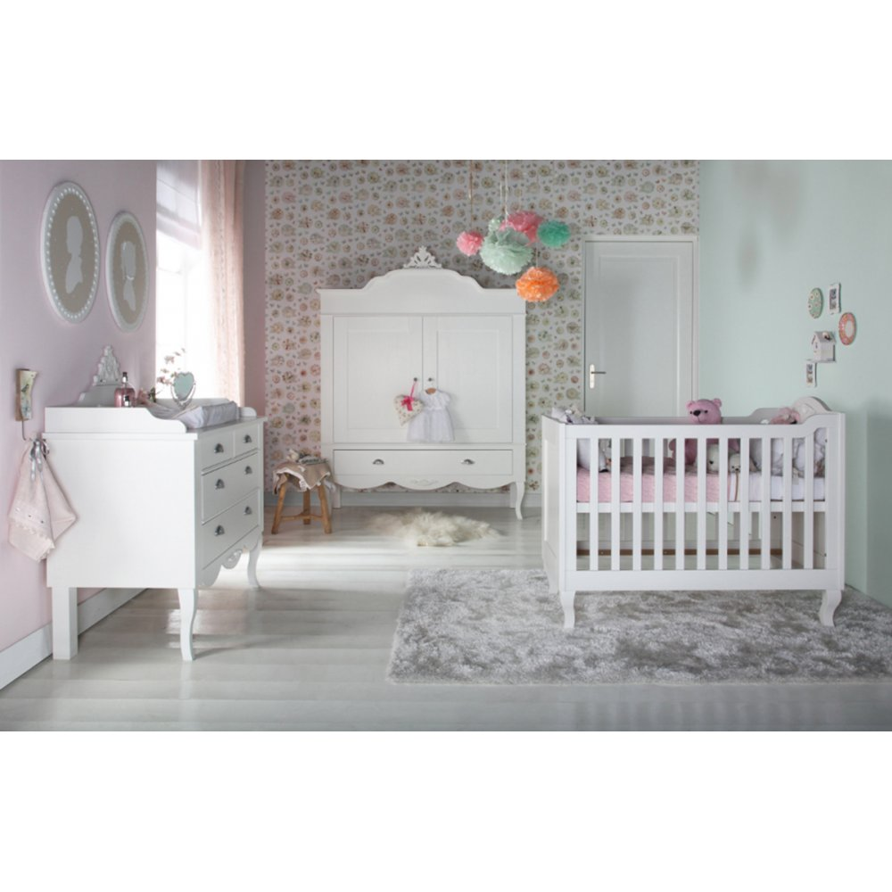 Nursery Furniture : Kidsmill Romance Nursery Furniture Set
