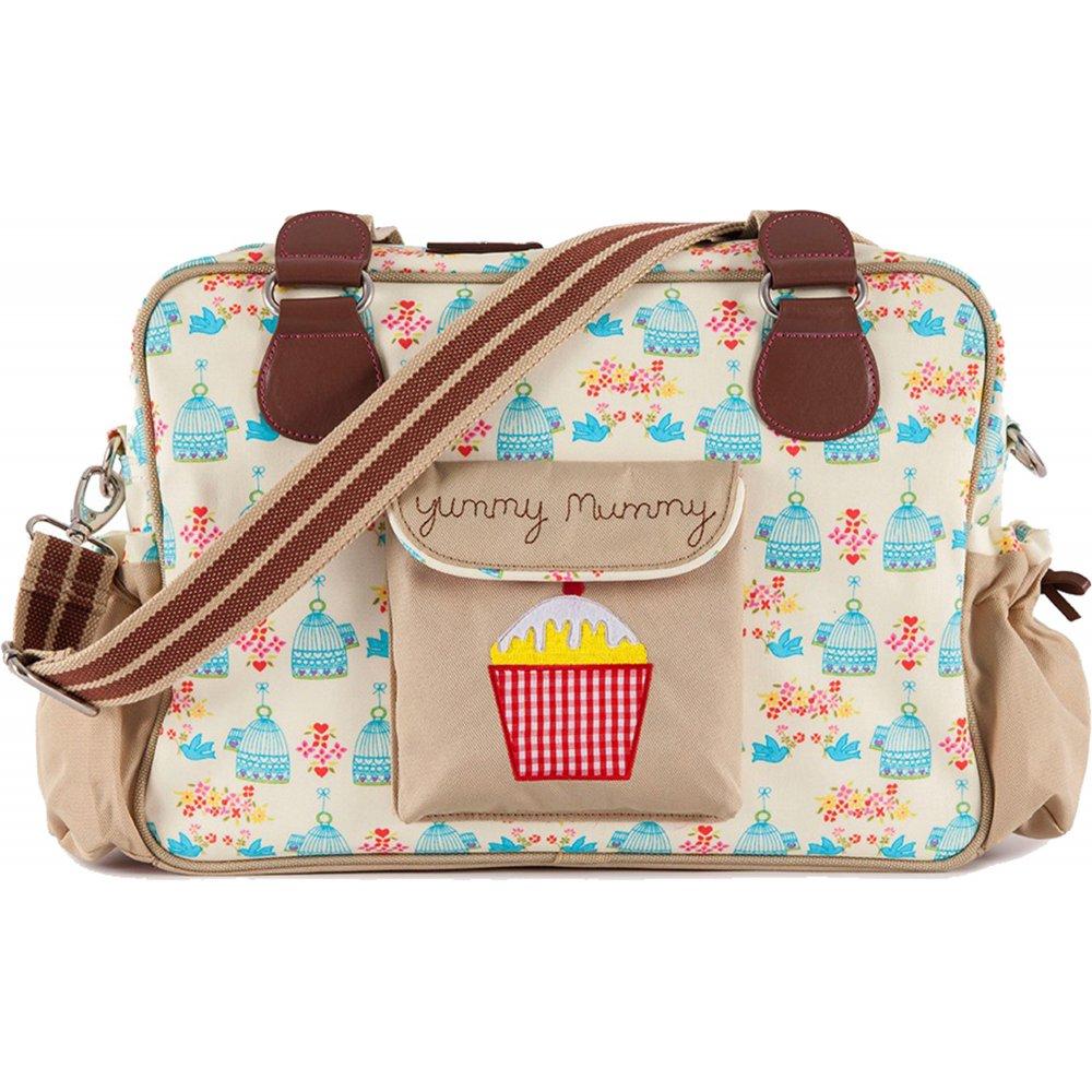 pink lining yummy mummy birdcage changing bag. Black Bedroom Furniture Sets. Home Design Ideas