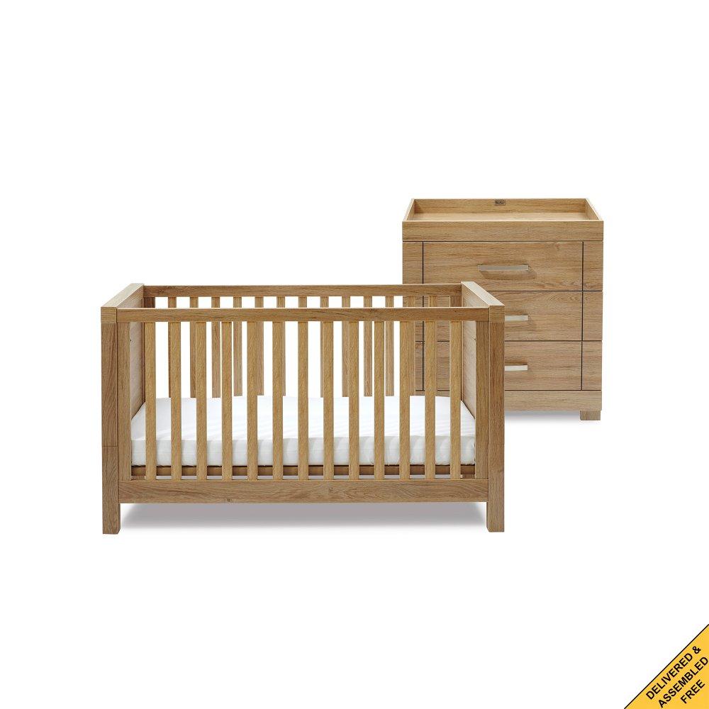 silver cross portabello nursery furniture set. Black Bedroom Furniture Sets. Home Design Ideas