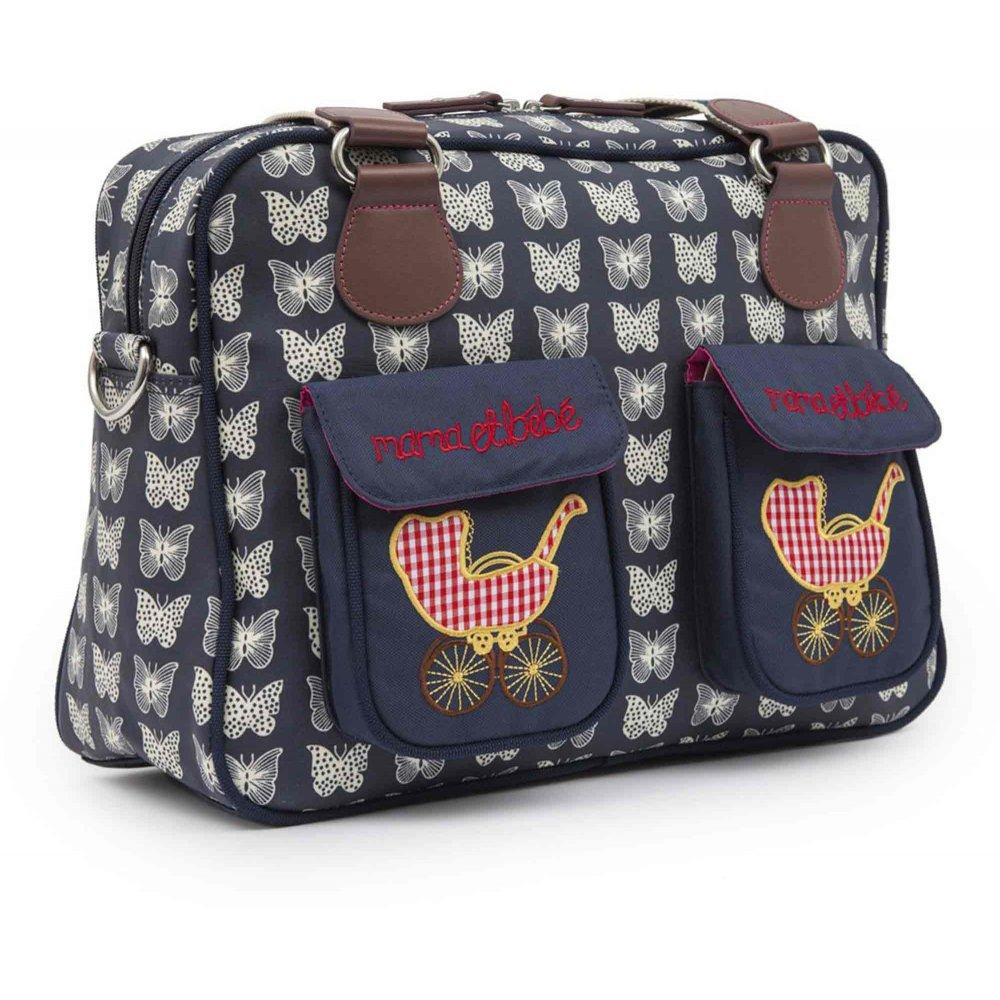 pink lining mama et bebe changing bag available at w h. Black Bedroom Furniture Sets. Home Design Ideas