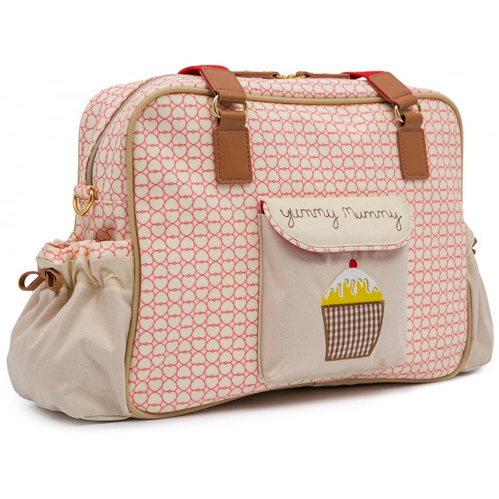pink lining yummy mummy changing bag available at w h. Black Bedroom Furniture Sets. Home Design Ideas