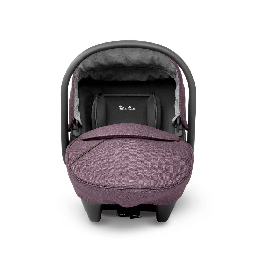 silver cross wave simplicity car seat claret from w h watts pram shop. Black Bedroom Furniture Sets. Home Design Ideas