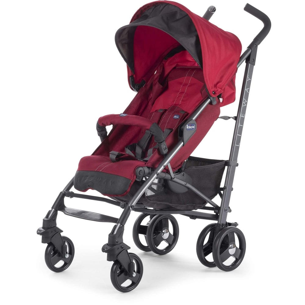 Chicco LiteWay Top Stroller Red Available At W H Watts ...
