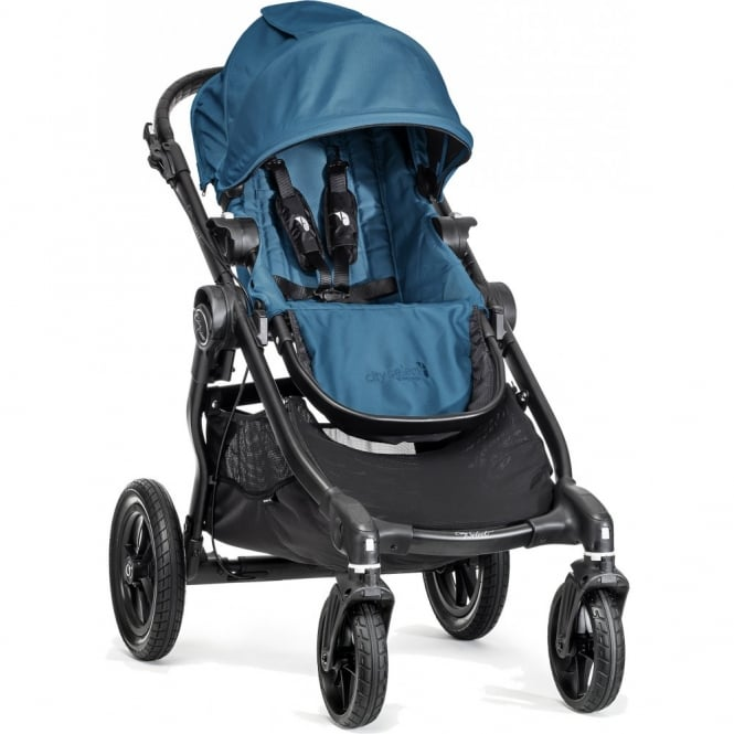 Baby Jogger City Select Stroller Teal with Raincover