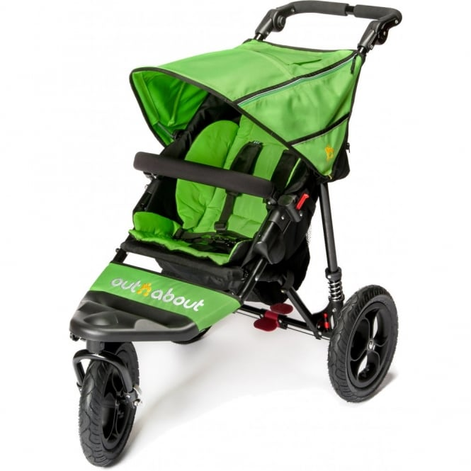 Out n About Out 'n' About Nipper Single 360 V4 Pushchair Mojito Green