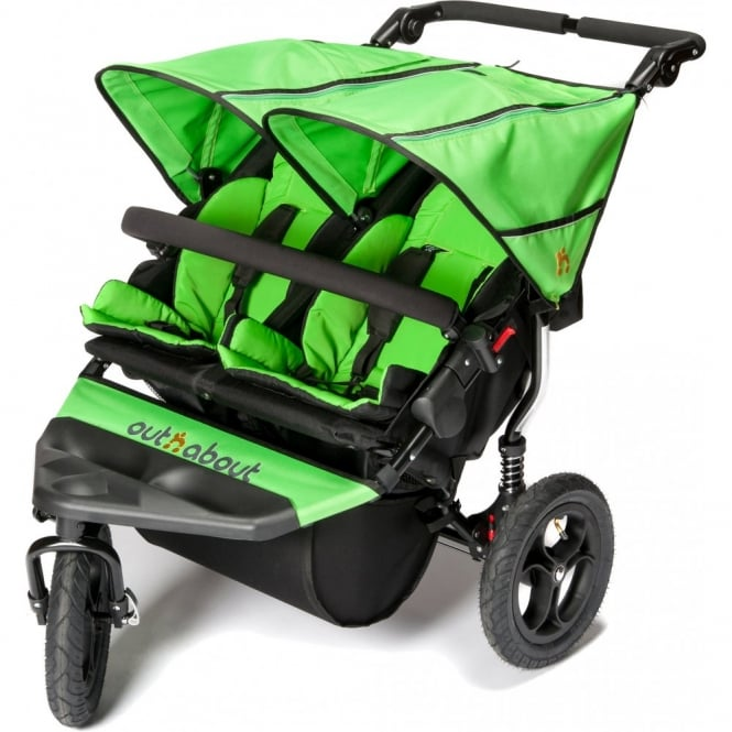 Out n About Out 'n' About Nipper Double 360 V4 Pushchair Mojito Green