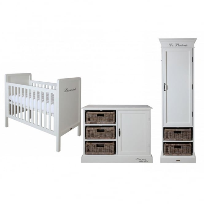 Kidsmill La Premiere Single Robe Nursery Furniture Set