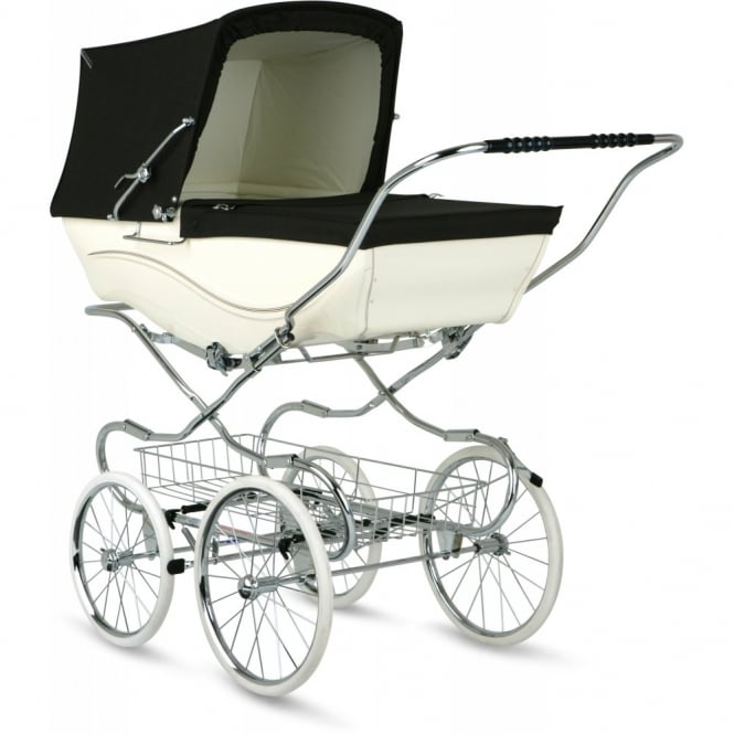 Silver Cross Heritage Kensington Pram Cream/Brown