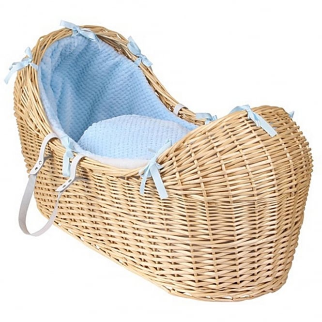 Clair de lune Honeycomb Noah Pod Natural Wicker Basket