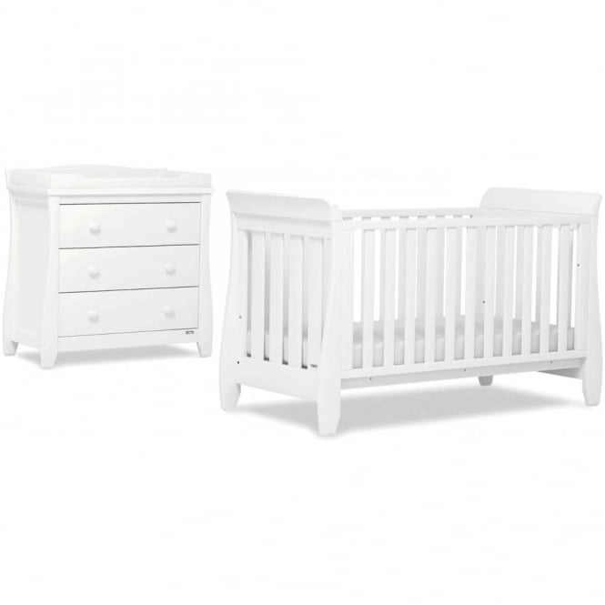 Urbane By Boori Urbane Sleigh 2 Piece Nursery Furniture Set By Boori
