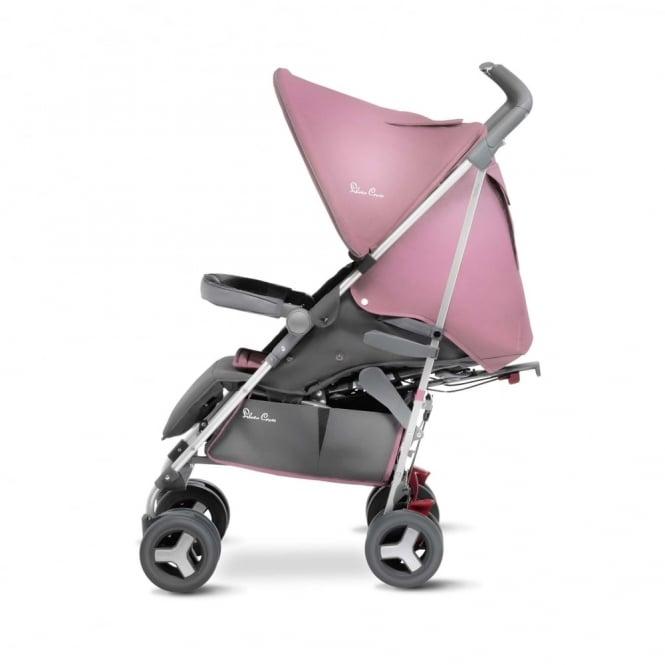 Silver Cross Reflex Stroller Vintage Pink Including Travel Bag