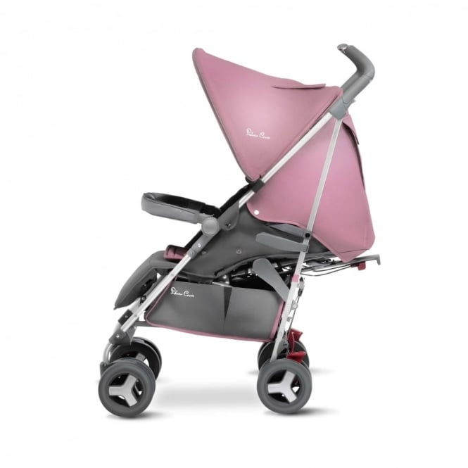 Silver Cross Reflex Stroller Vintage Pink Including Luxury Footmuff