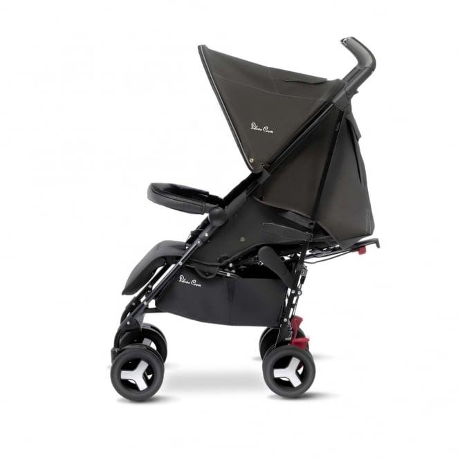 Silver Cross Reflex Stroller Black Including Travel Bag