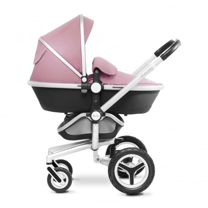 Silver Cross Surf 3 Pram Silver + Hood And Apron