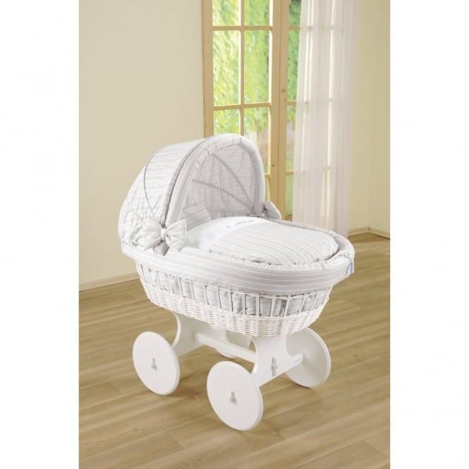 Leipold Silverstar Bollerwagen Crib With Hood