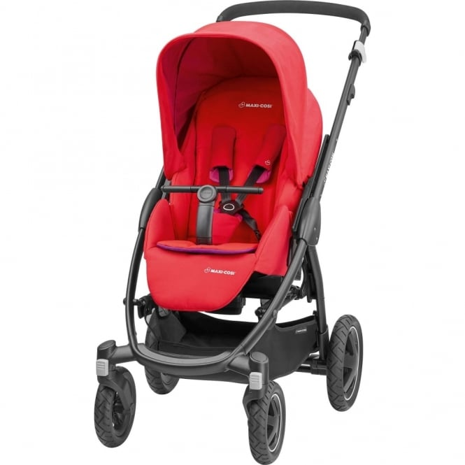 Maxi Cosi Stella Pushchair Red Orchid