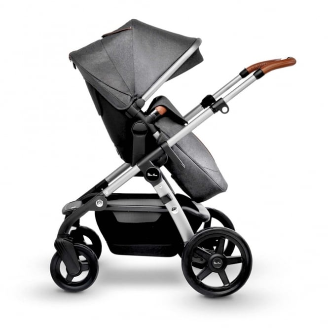 Silver Cross Wave Pram Granite