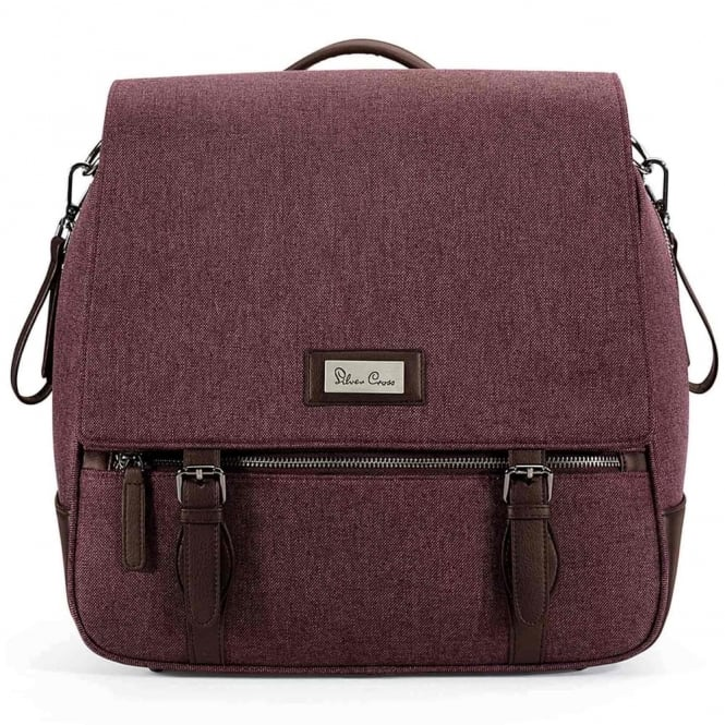 Silver Cross Wave Changing Bag Claret