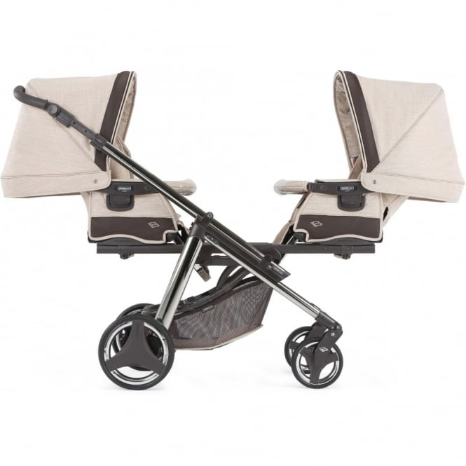 Bebecar Magic One & Two Twin Pram