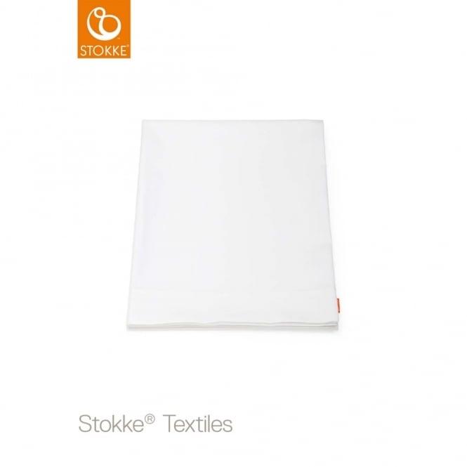 Stokke® Stokke Sleepi Mini Flat Sheet Classic White