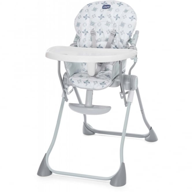 Chicco Pocket Meal Highchair Light Grey