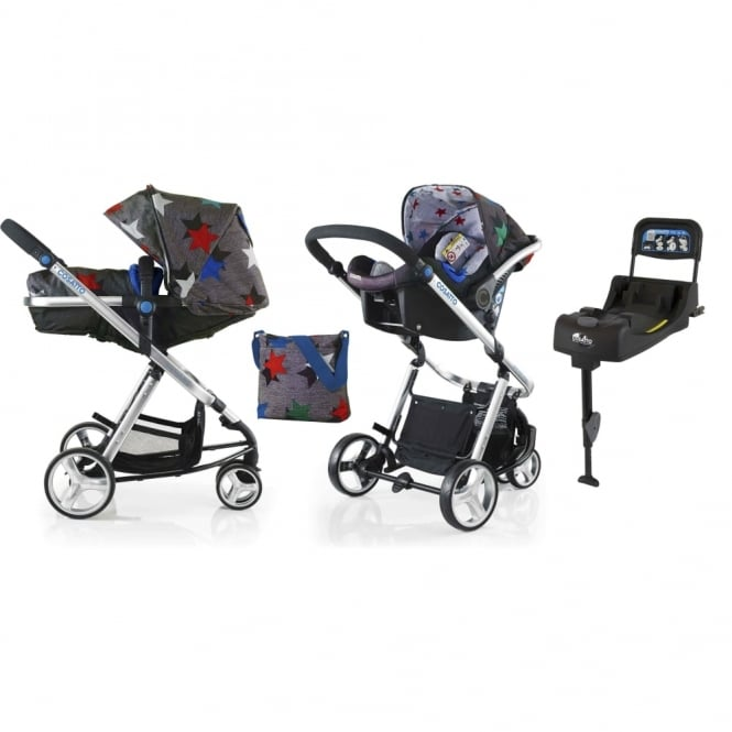 Cosatto Woop Travel System + Isofix Base