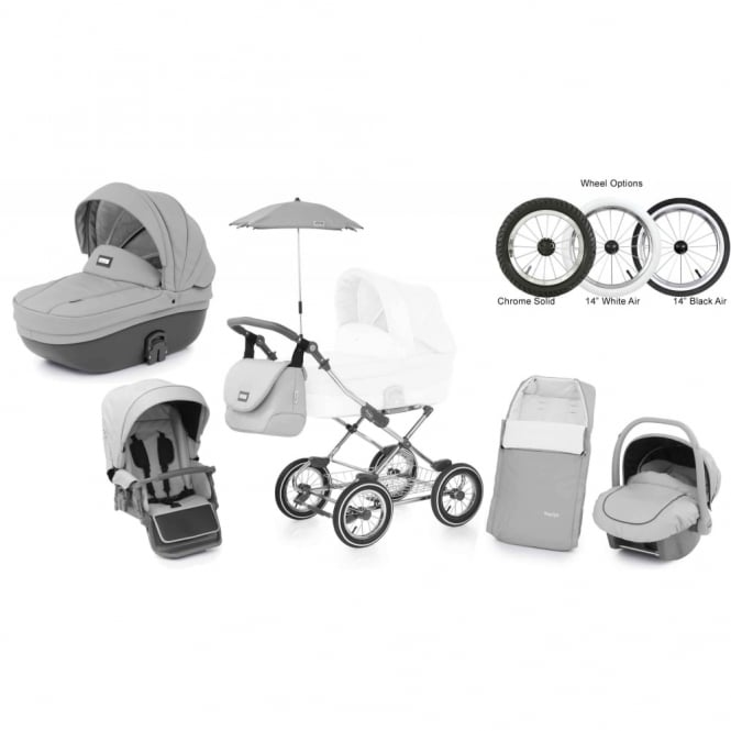 BabyStyle Prestige 2 Pram Dolphin - Classic Chassis