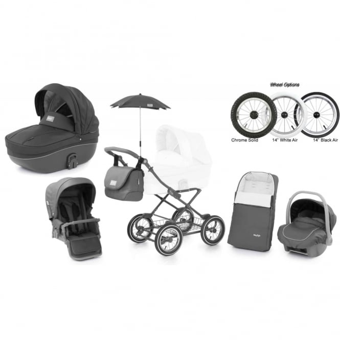 BabyStyle Prestige 2 Pram Shark - Classic Chassis