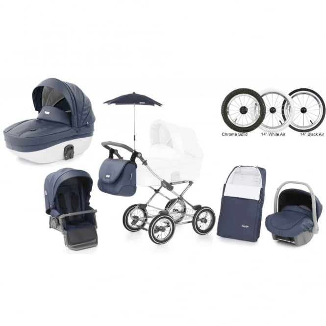 BabyStyle Prestige 2 Pram Marlin - Classic Chassis