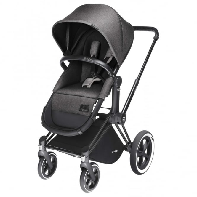 Cybex Priam 2in1 Light Seat Pram Black Chassis