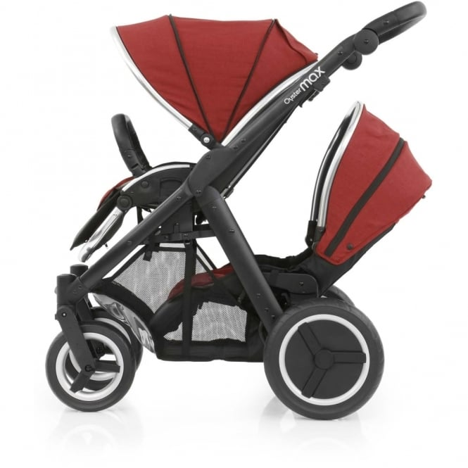 Babystyle Oyster Max 2 Tandem Lie-Flat Seat Unit with Colour Pack