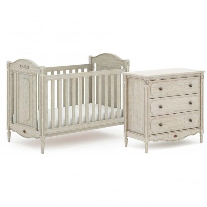 Boori Grace 2 Piece Nursery Furniture Set - Antiqued Grey