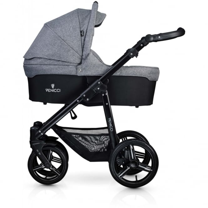 Venicci Soft All In One Pram - Denim Grey