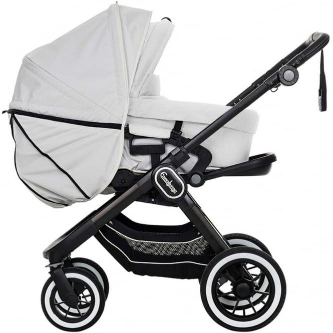 Emmaljunga NXT90 F Leatherette Stroller, Babylift And Toddler Seat