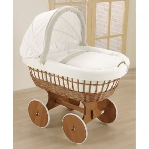 Leipold Amadeus Bollerwagen Crib With Hood