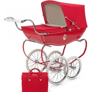 Silver Cross Heritage Chatsworth Toy Pram Poppy