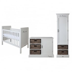 Kidsmill La Premiere Single Robe Nursery Furniture Set
