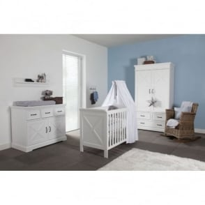 Kidsmill Savona Cross Nursery Furniture Set