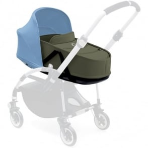 Bugaboo Bee 3 Carrycot Dark Khaki Complete with Canopy