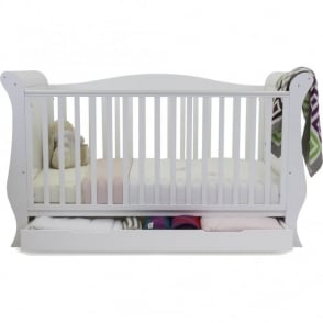 Babystyle Hollie 2 Sleigh Curved Back Cotbed