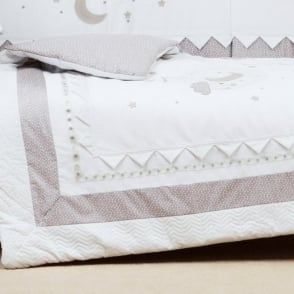 Silver Cross To The Moon And Back Cot Bed Quilt