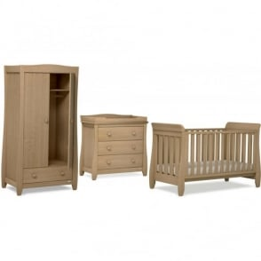 Urbane Sleigh 3 Piece Nursery Furniture Set By Boori