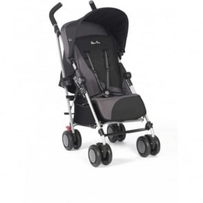 Silver Cross Pop 2 Pushchair Black