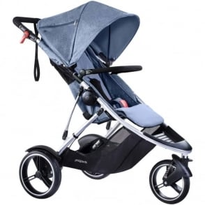 Phil & Ted's Dash Pushchair Blue Marl