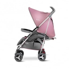 Silver Cross Reflex Stroller Vintage Pink Including Travel Bag