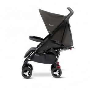 Silver Cross Reflex Stroller Black Including Travel Bag