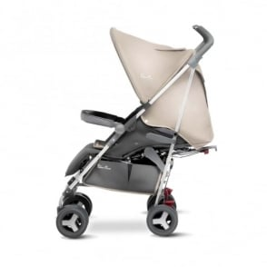 Silver Cross Reflex Stroller Sand Including Travel Bag